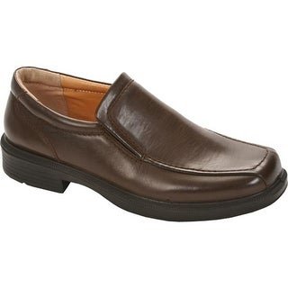 Deer Stags Men's Greenpoint Slip-On Dark Brown