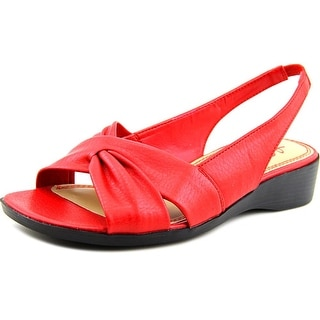 Life Stride Mimosa 2 Women N/S Open-Toe Synthetic Red Slingback Sandal