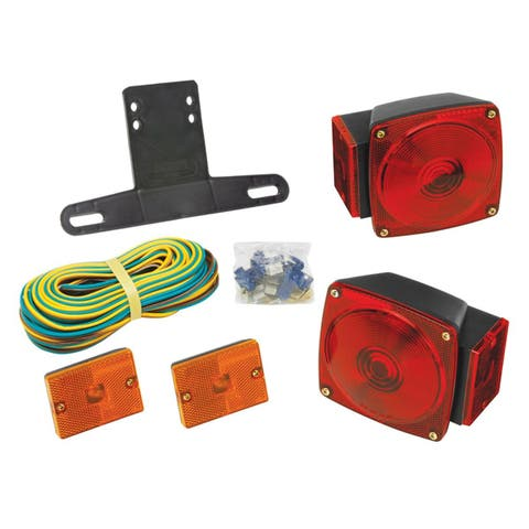"Wesbar Under 80"" Combination Trailer Light Kit w/Sidemarkers - 2823285"