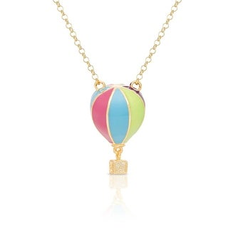 Lily Nily Girl's 3D Hot Air Balloon Necklace