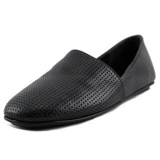 Vince Bogart-5 Round Toe Leather Flats