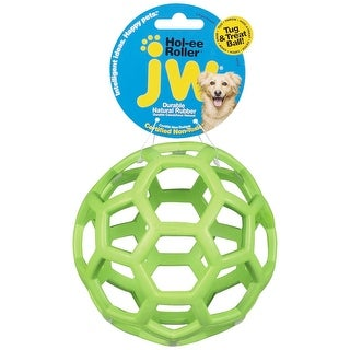"Petmate JW Hol-Ee Roller Dog Toy Large Assorted 5.5"" x 5.5"" x 5.5"""