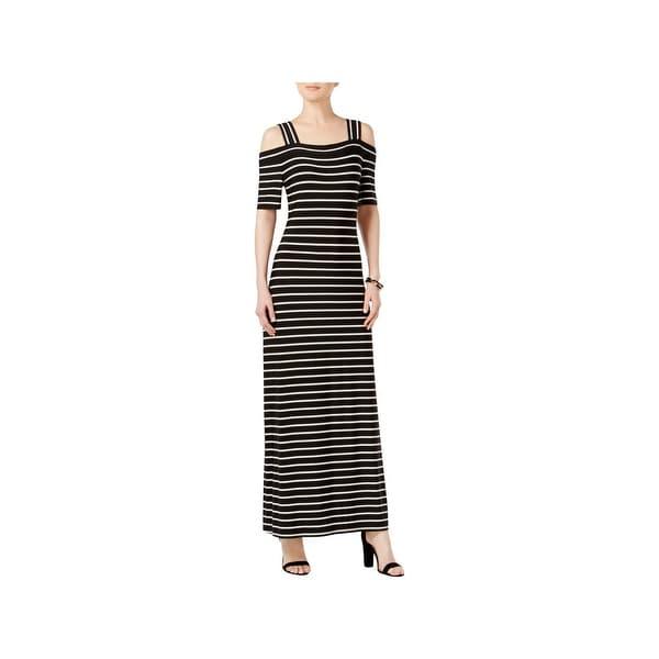 1e0d7c28c7669 Shop Nine West Womens Maxi Dress Jersey Striped - Free Shipping On ...