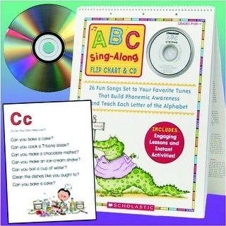 Scholastic ABC sing Along Flip Chart with CD