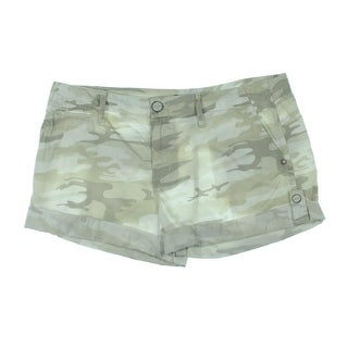 Sanctuary Womens Cotton Camouflage Casual Shorts - 29