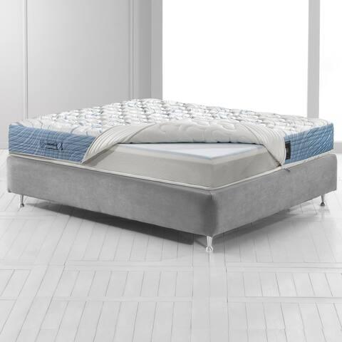 Magniflex Magnigel 10-inch Customized Comfort Gel Memory Foam Mattress - N/A