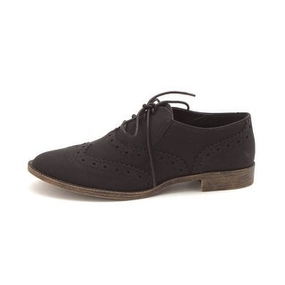 Very Volatile Womens Jaxie Closed Toe Oxfords