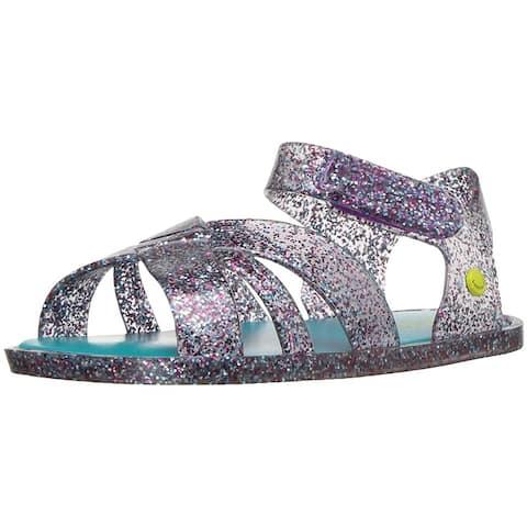 Western Chief Kids' Comfort Glitter Summer Outdoor Sandal