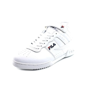 Fila F13 Men Round Toe Leather Sneakers