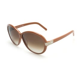 Chloe Women's  Square Glam Girl Sunglasses Brown - Small