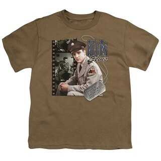 Elvis Gi Blues Big Boys Youth Shirt