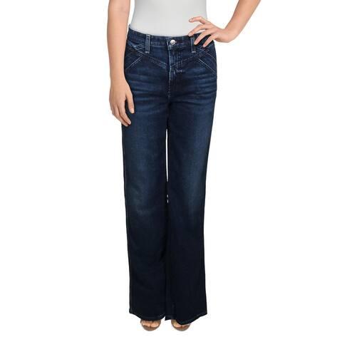 Joe's Womens The Molly Flare Jeans Denim High Rise - Longhorn