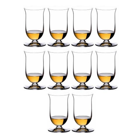 Riedel Vinum Single Malt Whisky Glasses (10-Pack) - 133mm