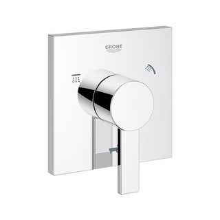 Grohe 19 591 Allure 5-Port Diverter Valve Trim Only with Lever Handle