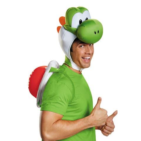 Adult Super Mario Yoshi Halloween Kit - Standard - One Size