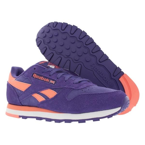 Reebok Cl Leather Seasonal Women's Shoes Size