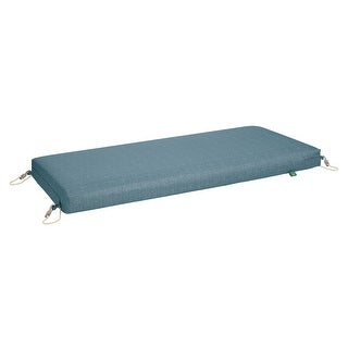 Duck Covers Weekend Water-Resistant Outdoor Bench Cushion