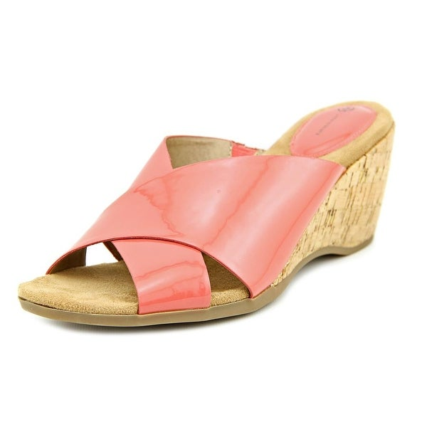 Giani Bernini Carolima Womens Dusty Pink Sandals