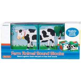 Farm Animals - Neurosmith Magic Sounds Blocks