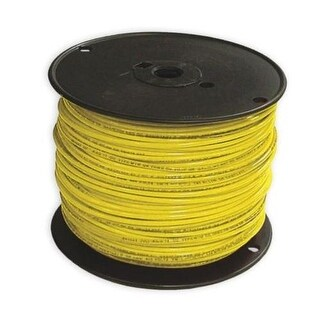 Southwire 12YEL-STRX500 Thhn Stranded Single Wire, 12 Gauge, Yellow