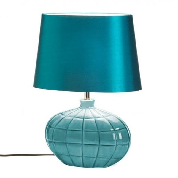 turquoise table lamp turquoise blue turquoise table lamp shop free shipping today overstockcom