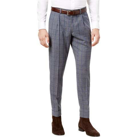 Tallia Mens Cropped Casual Trousers