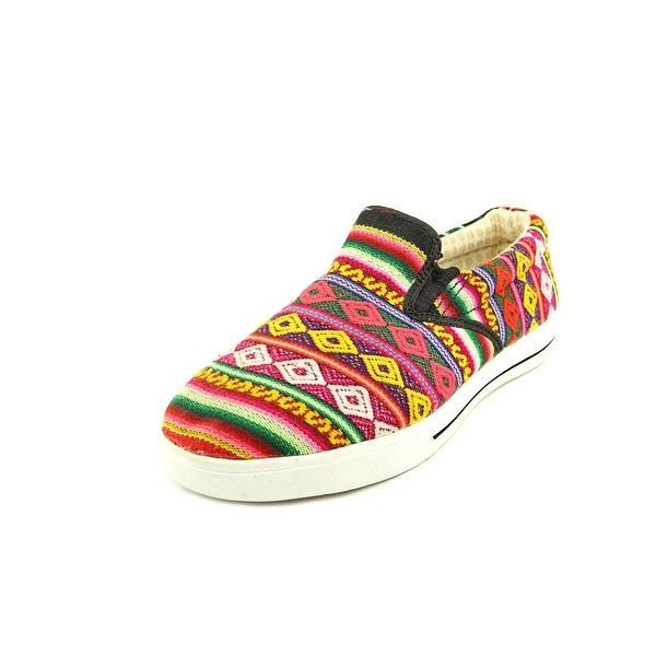 Inkkas Lowtop Women Round Toe Canvas Multi Color Sneakers