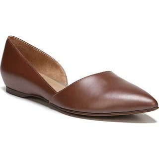 Naturalizer Women's Samantha D'Orsay Shoe Caramel Leather