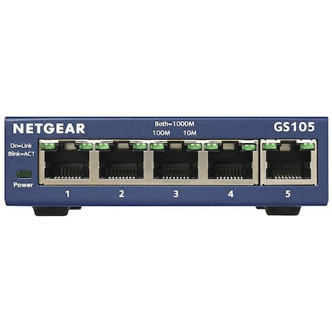 Netgear GS105NA Switches - Multicolor