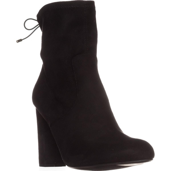 MG35 Mali High Rise Ankle Boots, Black