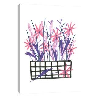 "PTM Images 9-108697  PTM Canvas Collection 10"" x 8"" - ""Flowerpot 5"" Giclee Flowers Art Print on Canvas"