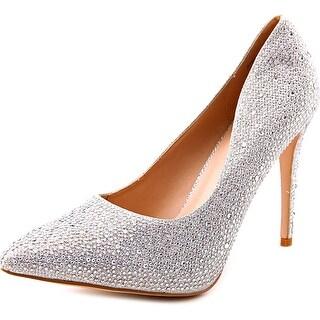 Lauren Lorraine Samantha Women Pointed Toe Synthetic Heels