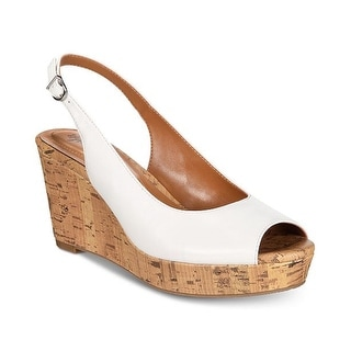 Style & Co. Womens Sondire Peep Toe Casual Ankle Strap Sandals