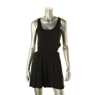 Material Girl Womens Juniors Casual Dress Sleeveless Scoop Neck - S
