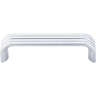 Top Knobs TK262 Modern Deco 3-3/4 Inch Center to Center Handle Cabinet Pull