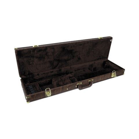 Browning 1428118408 bg luggage case universal for o/u & bt's to 34bbl. brown