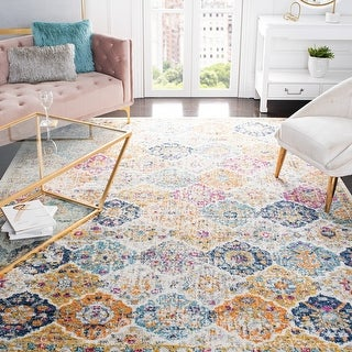 Link to Safavieh Madison Avery Boho Chic Distressed Rug Similar Items in Rugs