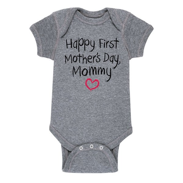Happy First Mothers Day Creeper - Infant One Piece