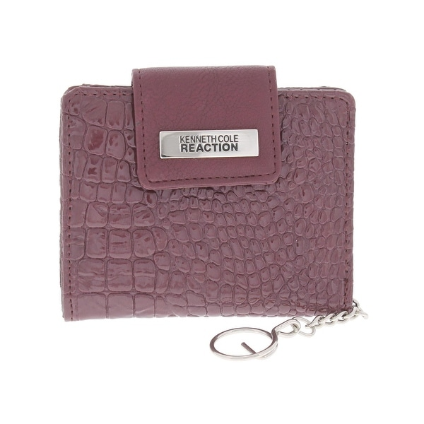 Kenneth Cole Womens Card Case Patent Textured - o/s