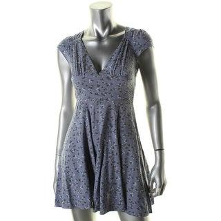 Denim & Supply Ralph Lauren Womens Casual Dress Floral Print Cut-Out - 4
