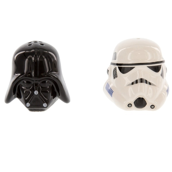 STAR WARS DARTH VADER STORM TROOPER salt /& pepper shakers set
