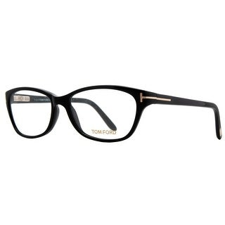 Tom Ford TF5142 001 54mm Wide Soft Square Black Unisex Eyeglasses - 54mm-15mm-135mm