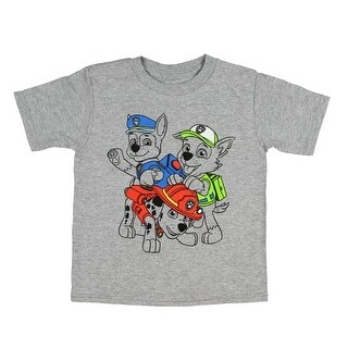 Paw Patrol Boys' Playful Chase Marshall Rocky T-Shirt
