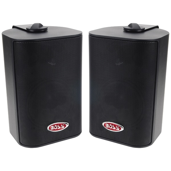Boss 3-Way Indoor/Outdoor Speaker Black