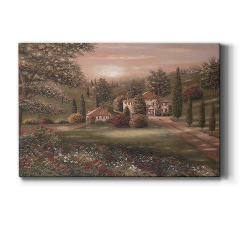 Evening/Tuscany II Premium Gallery Wrapped Canvas - Ready to Hang