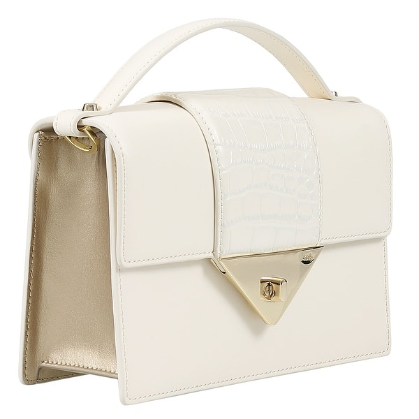 14e7a4f04aa8 Shop Roberto Cavalli Class GWLPEU H01 Jane 001 Ivory Small Shoulder ...