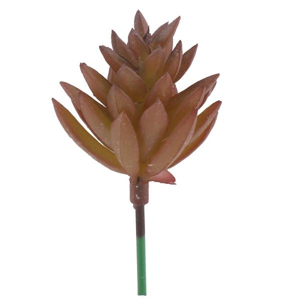 Living Room Office Plastic DIY Artificial Emulational Plant Ornament Brown