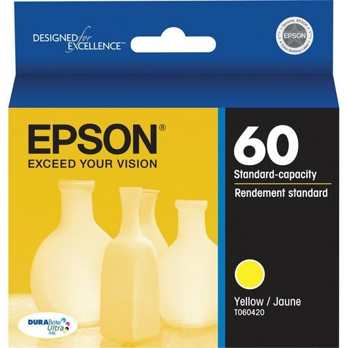 """Epson DURABrite Cartridge Ink - Ultra Yellow InkJet Cartridge"""