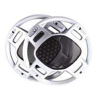 """Unique Bargains Car 10.6"""" Dia Plastic Mesh Speaker Sub Box Subwoofer Grill Horn Cover x 2"""