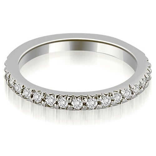 0.65 cttw. 14K White Gold Round Diamond Eternity Ring